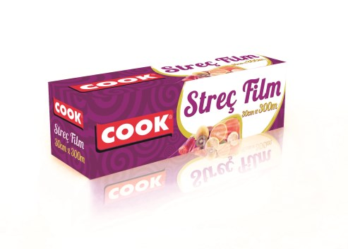 COOK STRETCH FILM 45 cm. x 300 m.
